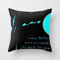 Messages To Myself Throw Pillow