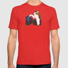 Reverie Mens Fitted Tee Red SMALL