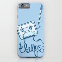 iPhone & iPod Case featuring Help! by Thiago García