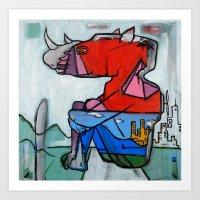 Contemplating Collective Consciousness by Amos Duggan 2013 Art Print