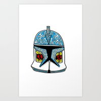 Celtic Clone Trooper Art Print