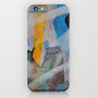 Some flags, circles & paint. Magic layers iPhone 6 Slim Case