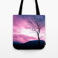 Into The Pink & Purple S… Tote Bag