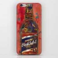 Black Label Bottle Beer iPhone & iPod Skin