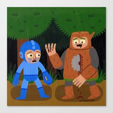 The Death of Woodman Canvas Print