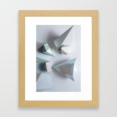 Origami #1 Framed Art Print
