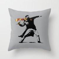 The Snatcher Throw Pillow