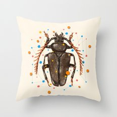 INSECT VIII Throw Pillow