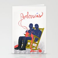 Adonais Stationery Cards