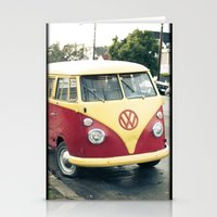 vw Stationery Cards featuring VW  by Stefanie Renee