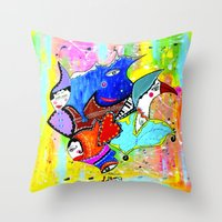 DON'T DREAM IT'S OVER Throw Pillow