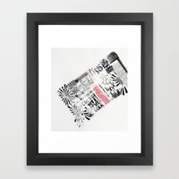 RETRO 6 Framed Art Print