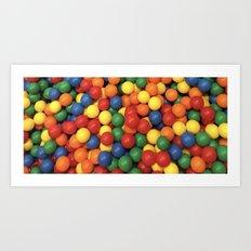 Ball Pool Art Print