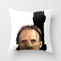 Hannibal Lecter: Monster… Throw Pillow