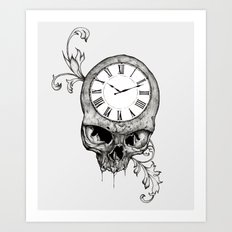 Lost Time Art Print