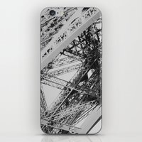 Eiffel Tower Close-up iPhone & iPod Skin