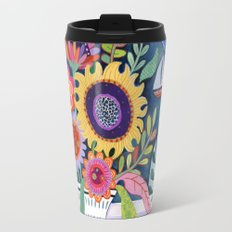 Bouquet by the Bay Travel Mug
