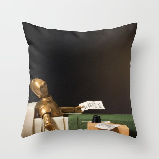 The Death of Robat Throw Pillow