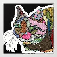 Mi Otra Gato Muerto Canvas Print