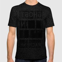 Ghost in the Machine Mens Fitted Tee Tri-Black SMALL