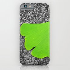 ginkgo leaf I iPhone 6 Slim Case