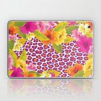 Floral Leopard  Laptop & iPad Skin