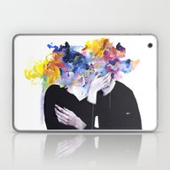 Laptop & iPad Skin featuring Intimacy On Display by Agnes-cecile