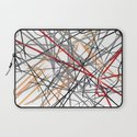 Unraveled Burberry Scarf Laptop Sleeve