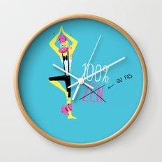 100% Zen Wall Clock