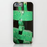 iPhone & iPod Case featuring Clip Frog by AUZZLE