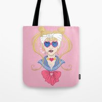 Sailor Moon After The Ba… Tote Bag