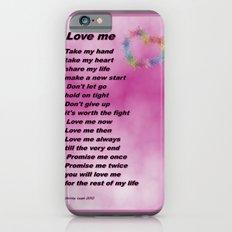 Love Me iPhone 6 Slim Case