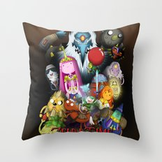 Zelda Time! Throw Pillow
