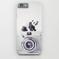 iPhone & iPod Case featuring The Panda and The Ikonette by Susannah Tucker