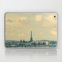 Paris In Blue Laptop & iPad Skin