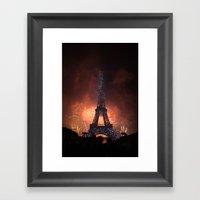 As France Celebrates The… Framed Art Print