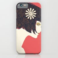 iPhone & iPod Case featuring flower by frtortora
