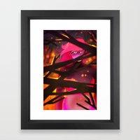 cleansing fire Framed Art Print
