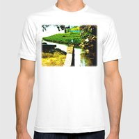 Wild Bird Mens Fitted Tee White SMALL