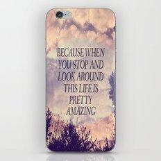 Pretty Amazing  iPhone & iPod Skin
