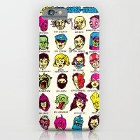 iPhone & iPod Case featuring The League of Cliché Evil Super-Villains by Joshua Kemble