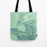 Ocean Breath Tote Bag