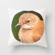 Throw Pillow featuring Brown Bird - Furnarius R… by Julio O. Herrmann