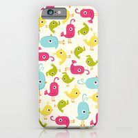 iPhone & iPod Case featuring Sweet Tweets by Liz Urso