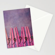 CLOTHESPINS Stationery Cards