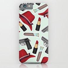 Peggy Carter Pattern iPhone 6 Slim Case