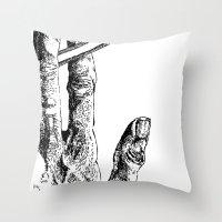 2 tools Throw Pillow