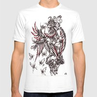 Butterfly's Diet Mens Fitted Tee White SMALL