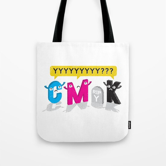 Four Colors and a Funeral Tote Bag