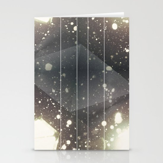 Light Space Stationery Card